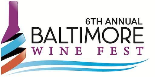 6th Annual Baltimore Wine Fest