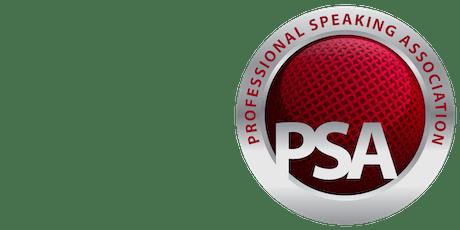 PSA North East July - Speaker Factor Regional Heats tickets