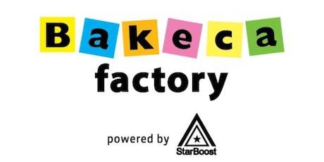 BAKECA FACTORY _ Crea valore dalla tua Community tickets