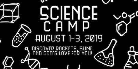 NUMC Science Camp tickets