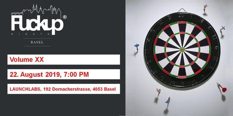 Fuckup Nights Basel Vol 20 tickets