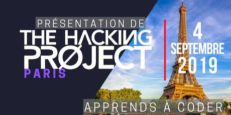 The Hacking Project Paris automne 2019 (présentation gratuite) billets