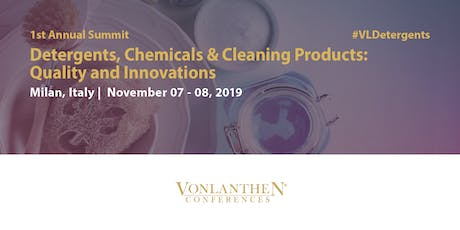 Detergents, Chemicals & Cleaning Products: Quality and Innovations Summit biglietti