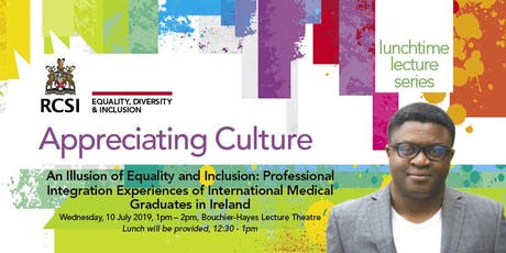 Lecture Series - Exploring the Experiences of Ethnic Minorities in Ireland. tickets