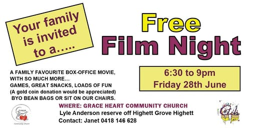Free Film Night for Families