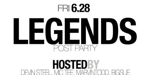Legends Post Party @ WKND