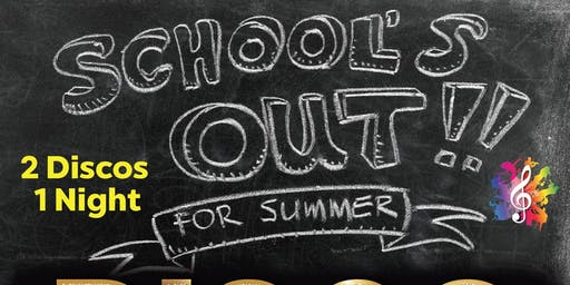 School's Out For Summer DISCO - Bounce (ages 8-12)