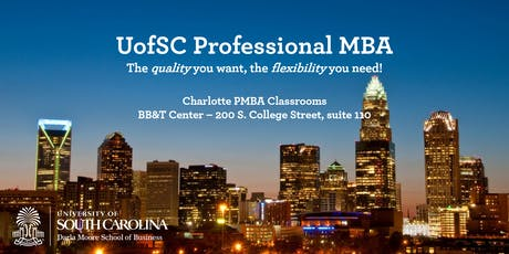 Professional MBA Program - Charlotte Information Session tickets