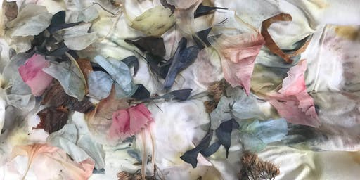 Eco Printing and Bundle Dyeing