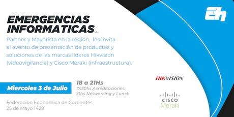 Hikvision Argentina y Cisco Meraki entradas