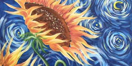 Sunflowers Brush Party - Headington tickets