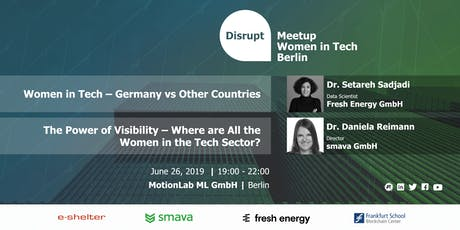 Disrupt Meetup | The Lack of Women Role Models in the Tech Sector tickets