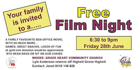 Free Film Night for Families tickets