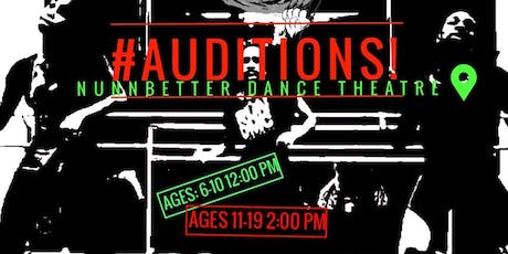 THE ALI CAT'S AUDITION REGISTRATION tickets