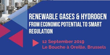 Renewable gases & hydrogen: from economic potential to smart regulation tickets