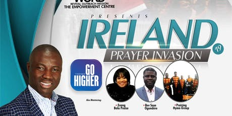 IRELAND PRAYER INVASION 2019 tickets