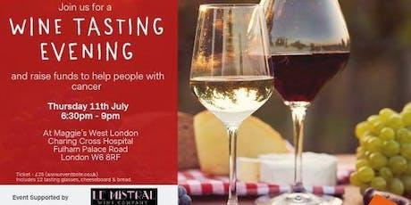 Maggie's West London Wine Tasting tickets