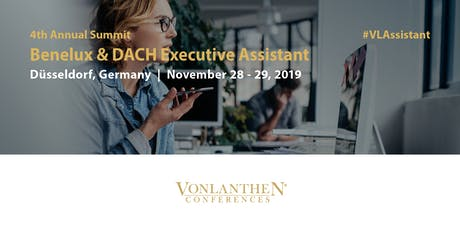 4th Benelux & DACH Executive Assistant Summit Tickets