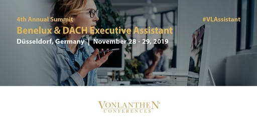 4th Benelux & DACH Executive Assistant Summit