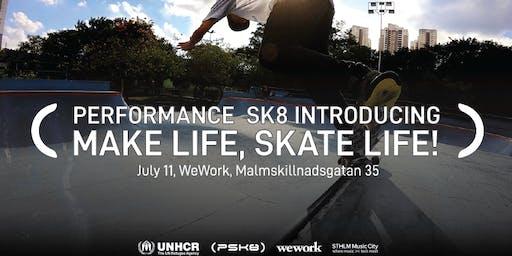 Performance Sk8 introducing - Sthlm Skatetech zone
