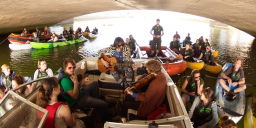 Intimate Kayaking Concert on the Liffey