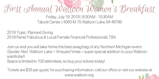 Walloon Women's Breakfast