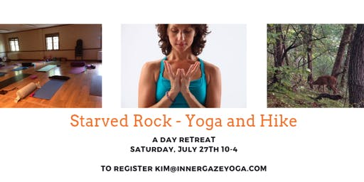 Forest Bathing: A Starved Rock Yoga Hike One Day Retreat