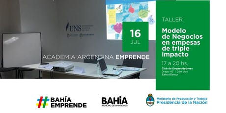 "AAE en Club de Emprendedores-""Taller de Modelo de negocios en empresas de triple impacto"" Bahía Blanca entradas"