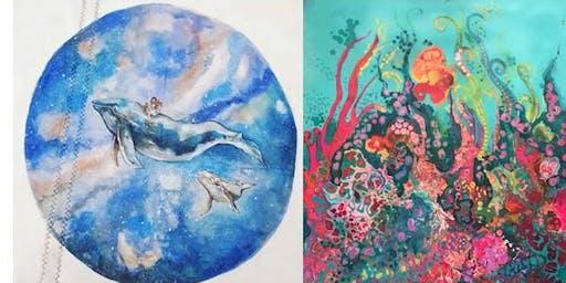 Vernissage l''Ecrin de la Mer' de JILL Devaux et Fabienne Val MICHELUCCI