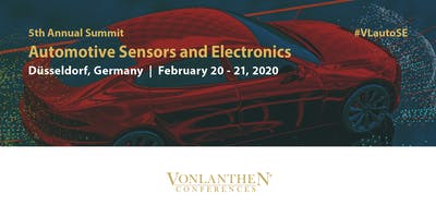 5th Annual Automotive Sensors and Electronics Summit