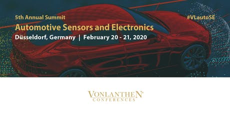 5th Annual Automotive Sensors and Electronics Summit tickets