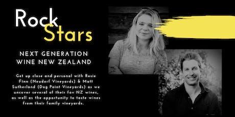 New Zealand Rock Stars Wine Tasting tickets