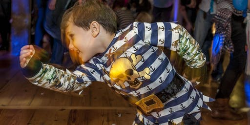 Big Fish Little Fish CAMDEN 'Pirate' indie special family rave 29 September DJ Dave Booth (Hacienda)