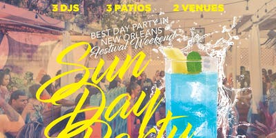#REVNOLA - FESTIVAL WEEKEND SUNDAY DAY PARTY