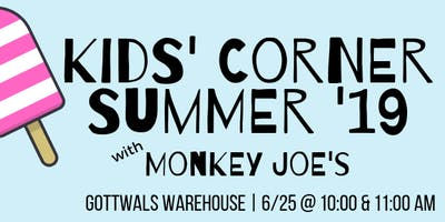 Kids' Corner with Monkey Joe's