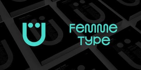 FEMME TYPE Book Launch — London tickets