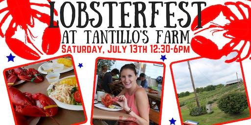 2019 July LobsterFest at Tantillo's Farm
