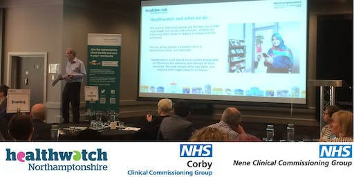 Northampton Engagement on the setting up of a single of the Northamptonshire Clinical Commissioning Group