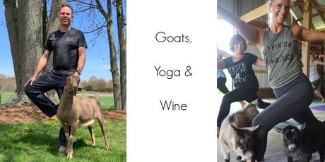 Goat Yoga & Wine tickets