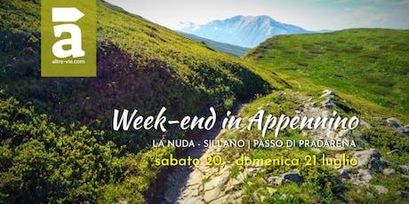 Week-end in Appennino biglietti