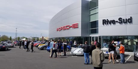 Porsche  and Coffee tickets