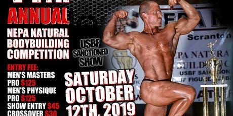 14th Annual NEPA Natural Body Building Competition tickets
