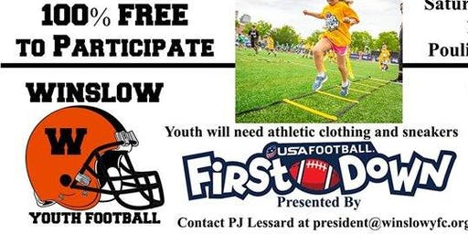 Free USA Football First Down Clinic