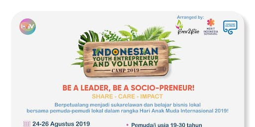 Indonesian Youth Entrepreneur and Voluntary (IYEV) Camp 2019