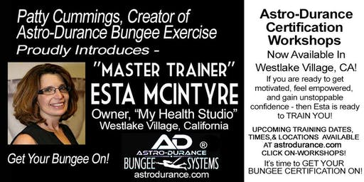 ASTRO-DURANCE 1-Day Master Trainer Bungee Workshop, California, July 12