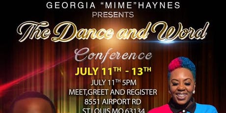The Dance and Word Conference tickets