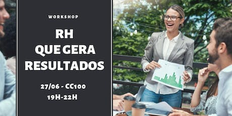 WORKSHOP | RH QUE GERA RESULTADOS tickets
