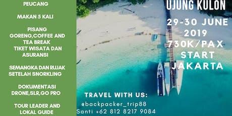 BackpackerTrip Explore Ujung Kulon tickets