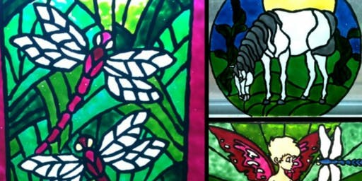 Faux Stain Glass Class