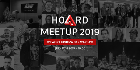HOARD Warsaw MeetUp 2019 tickets